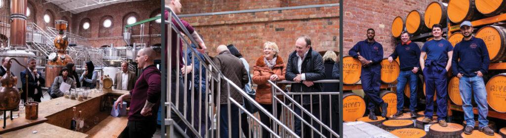 Copper anniversary gift- Copper Rivet Distillery Tour